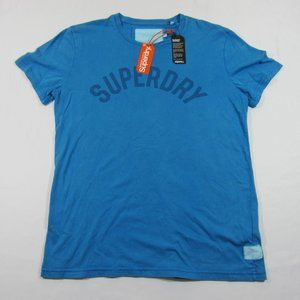 SUPERDRY Blue Solo Sport Short Sleeve Cotton Tee